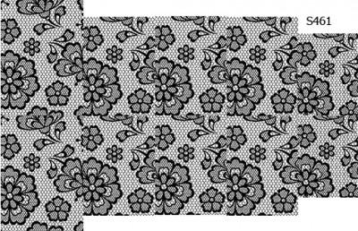 Слайдер дизайн кружево сетка цветы S461