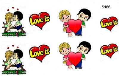 Слайдер дизайн Love is... (любовь это...) S466