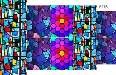 Слайдер дизайн 3д мозаика S476