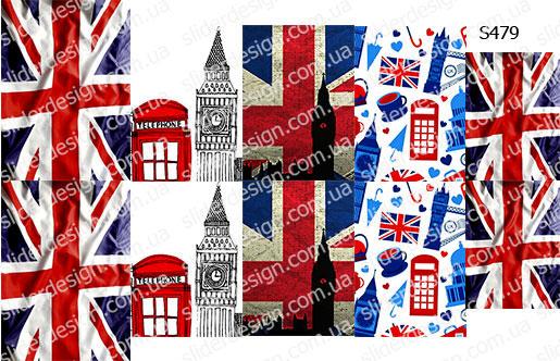 Слайдер дизайн Англия, Лондон S479