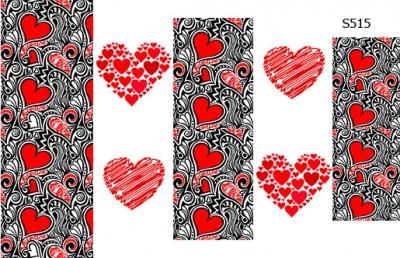 Слайдер дизайн сердца S515