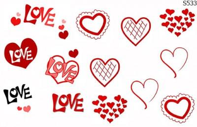 Слайдер дизайн набор Love S533