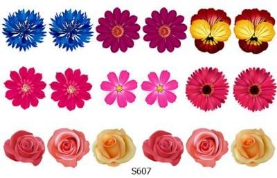 Слайдер дизайн цветочки весна S607