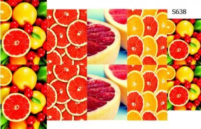 Слайдер дизайн грейпфрут S638