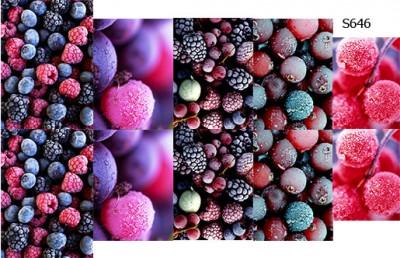 Слайдер дизайн ягоды замороженные S646