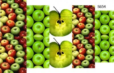 Слайдер дизайн яблочный микс S654
