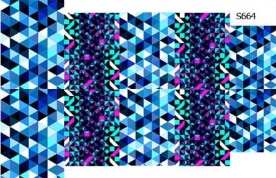 Слайдер дизайн мозаика микс S664