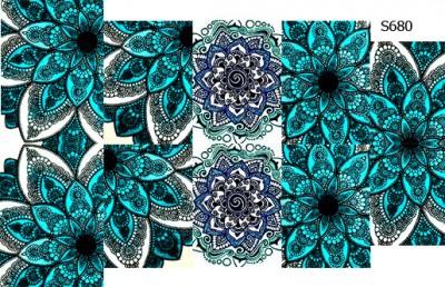 Слайдер дизайн шамбала цветок S680