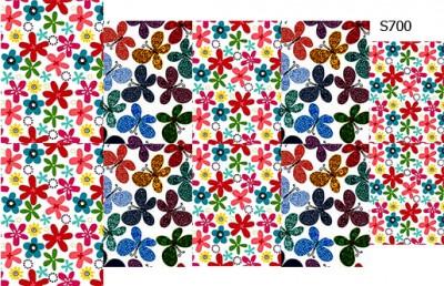 Слайдер дизайн детские цветочки S700