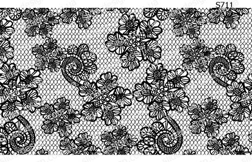 Слайдер дизайн кружево винтаж S711