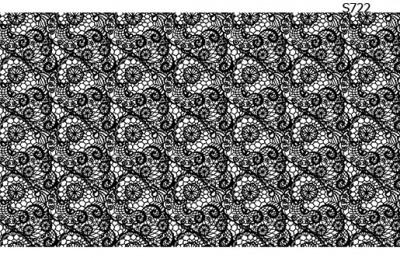 Слайдер дизайн кружевная абстракция S722