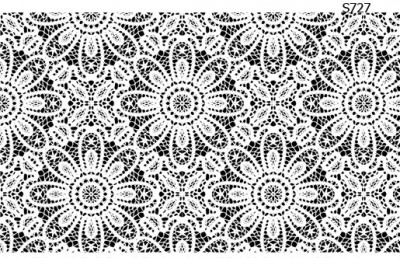 Слайдер дизайн белое кружево салфетка S727