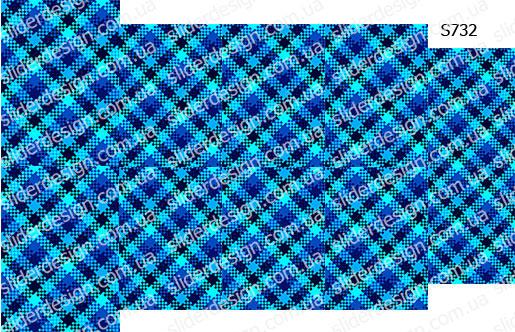 Слайдер дизайн клетка шотландка S732
