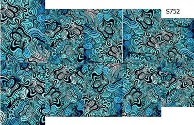 Слайдер дизайн морской абстракция S752