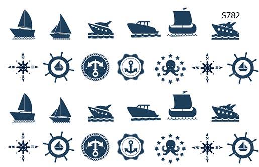 Слайдер дизайн корабли, лодочки, яхты S782