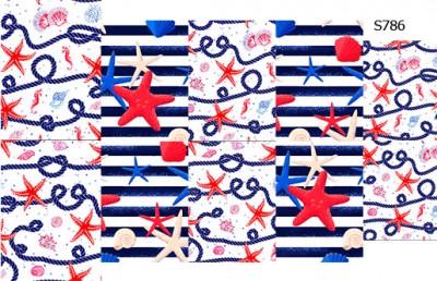 Слайдер дизайн морская звезда S786