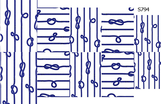 Слайдер дизайн морские узлы S794