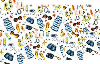 Слайдер дизайн одежда на пляж S801