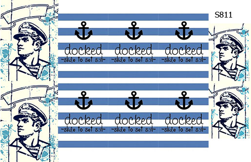Слайдер дизайн капитан корабля S811