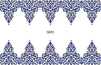 Слайдер дизайн вензеля гроздь S845