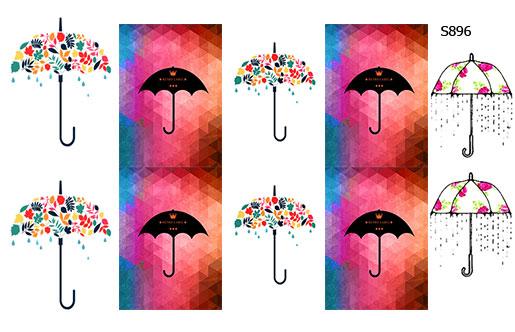 Слайдер дизайн зонты от дождя S896