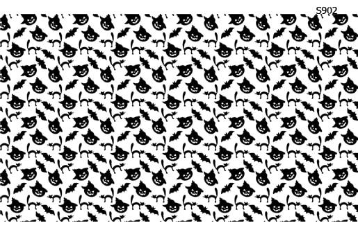 Слайдер дизайн тыквы кошки хелоуин S902