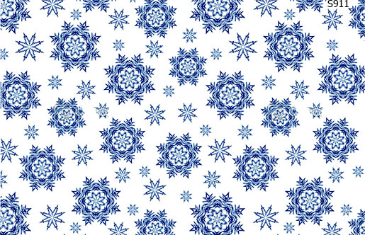 Слайдер дизайн зимний снег снежинки S911
