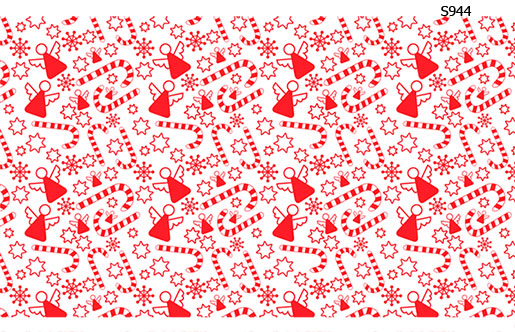 Слайдер дизайн ангелочки конфетки S944