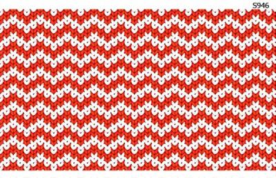 Слайдер дизайн красный свитер вязаный S946