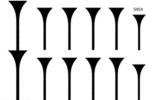 Слайдер дизайн под лунку линия S955