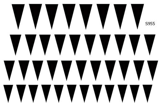 Слайдер дизайн треугольники на лунки S955