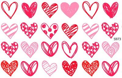 Слайдер дизайн сердце нарисованное от руки S973