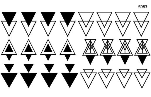 Слайдер дизайн геометрия треугольники S983