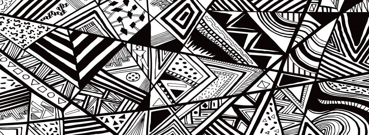 геометрический слайдер дизайны